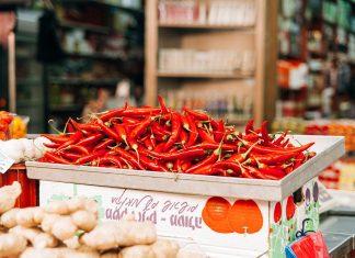 червени зеленчуци