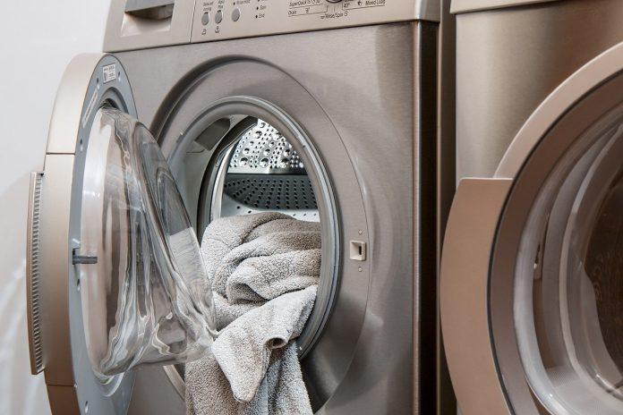 пералнята служи