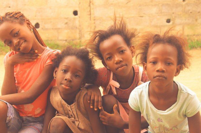 децата в Африка