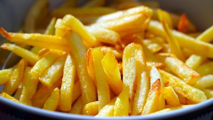 пържените картофи